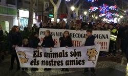 La manifestación animalista de Gandia acaba con polémica en el pleno del Ayuntamiento