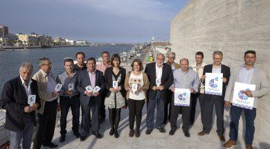 """L'Alcaldessa de Gandia, Diana Morant, assisteix a l'acte de presentació de la marca """"Peix de llotja de la Comunitat Valenciana"""", que ha impulsat la Generalitat Valenciana. Estarà present la Consellera de Medi Ambient, Elena Cebrián."""
