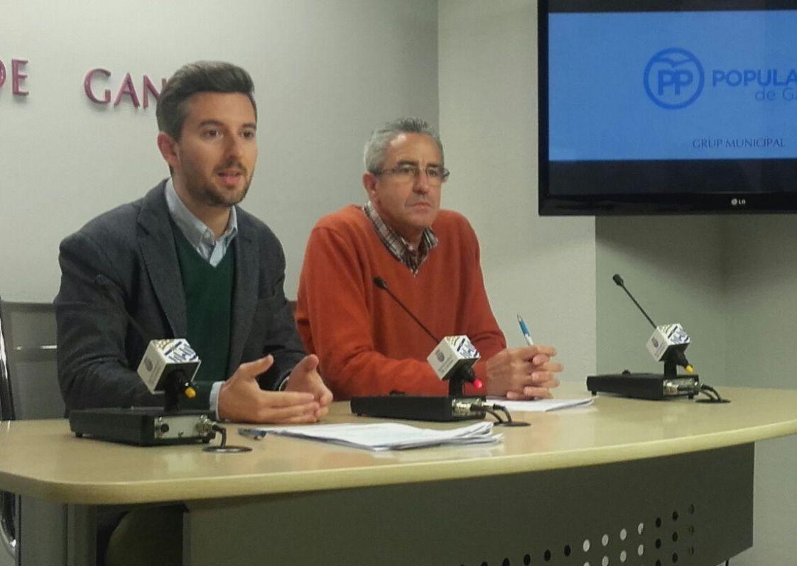 Polémica en el Ayuntamiento de Gandia por la consulta popular de Sanxo Llop