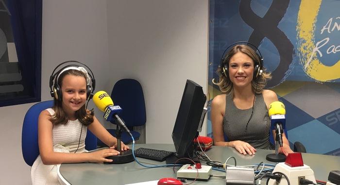 Sara Sanvíctor y Nuria Llopis, Falleres Majors de Gandia 2018