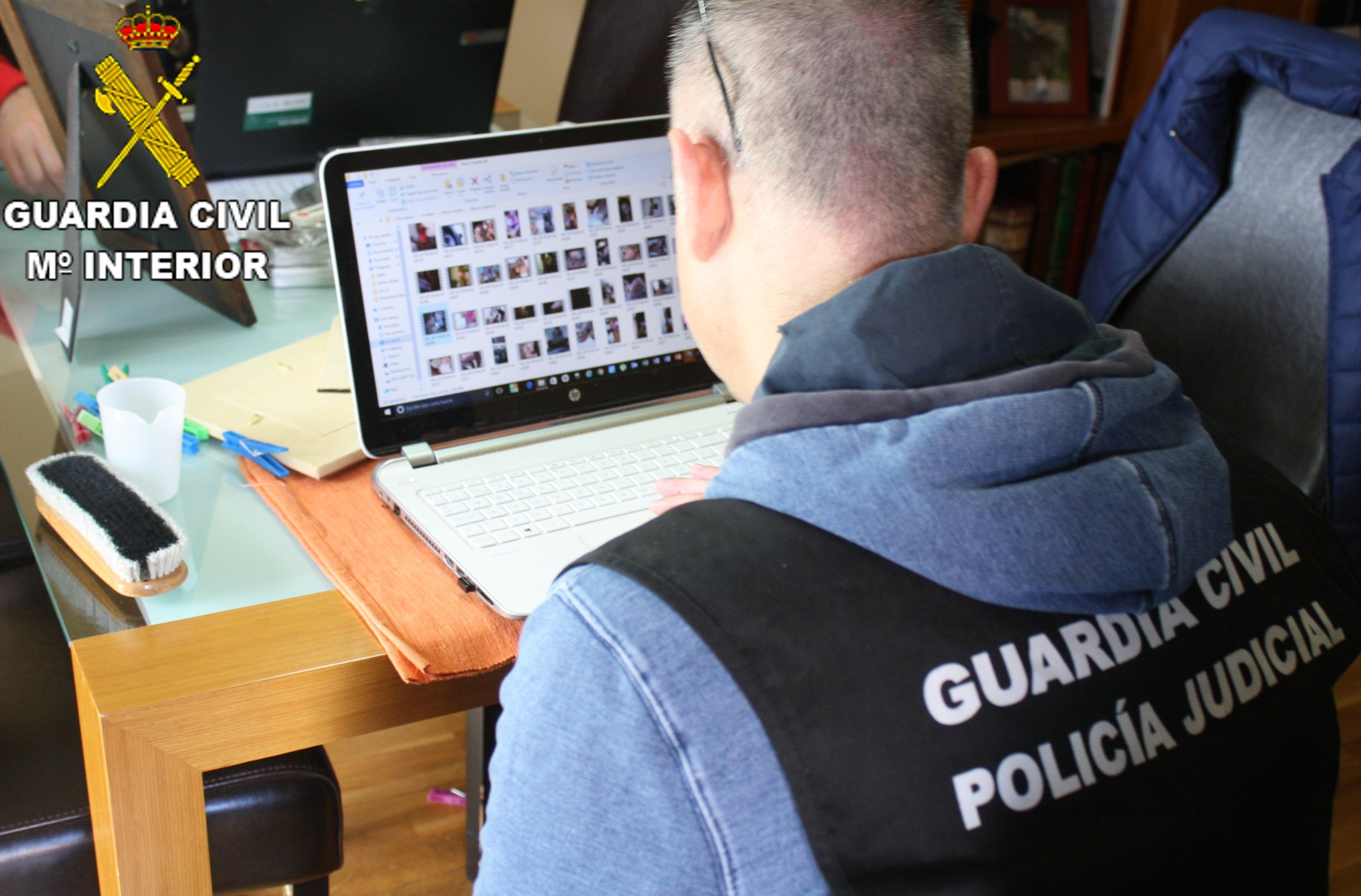 La Guardia Civil de Tavernes destapa una red de pornografía infantil