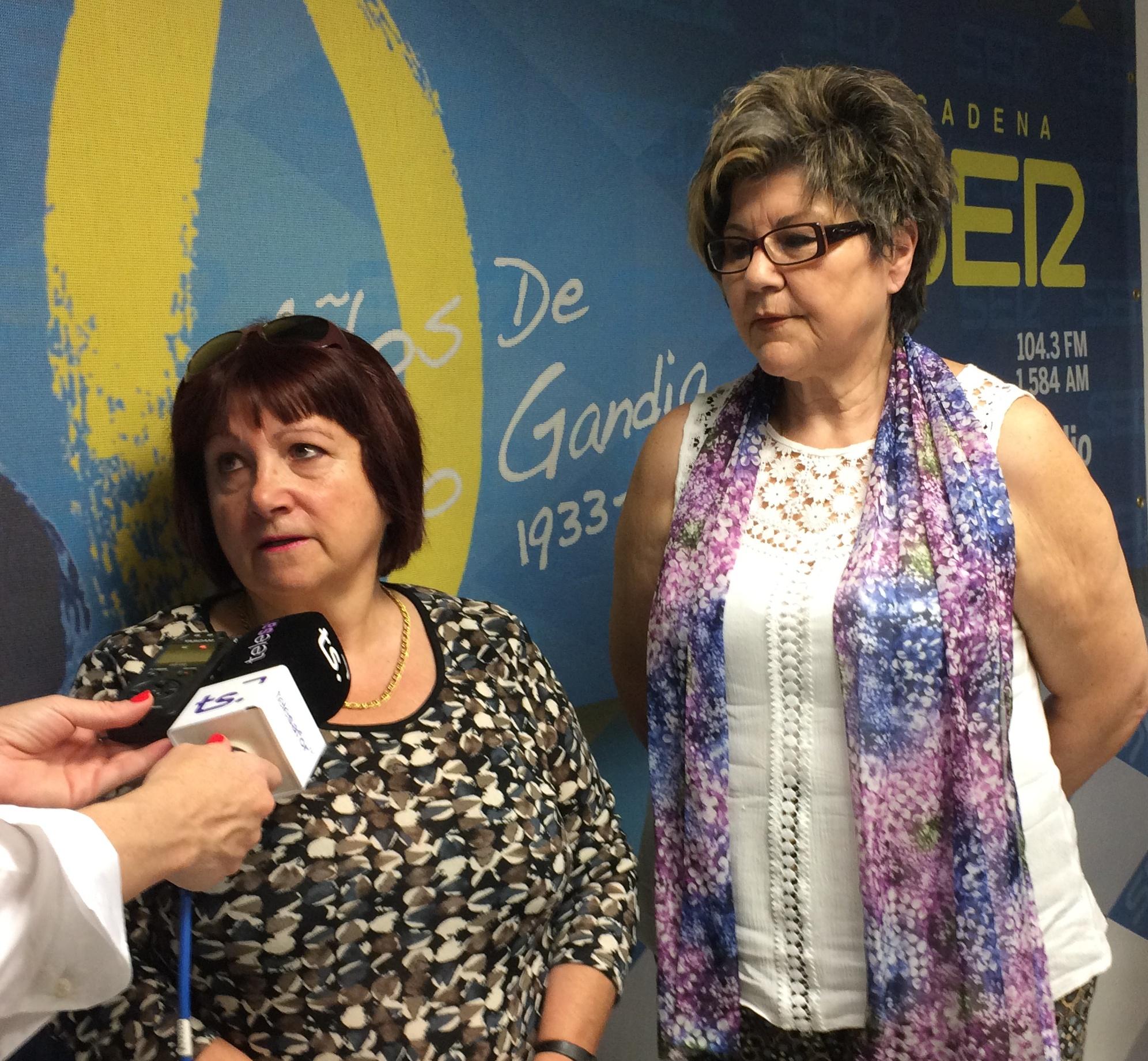 Dos abuelas de Oliva luchan por la tutela de su nieta que ahora tiene la Generalitat