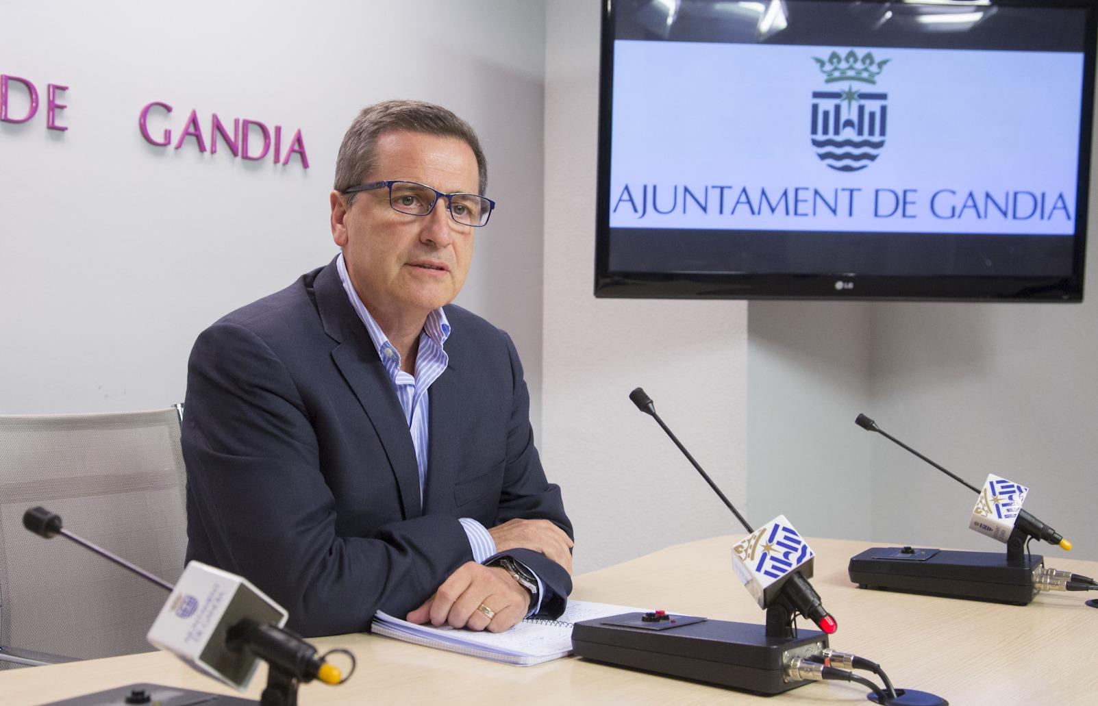 El Ayuntamiento de Gandia niega las acusaciones de Torró