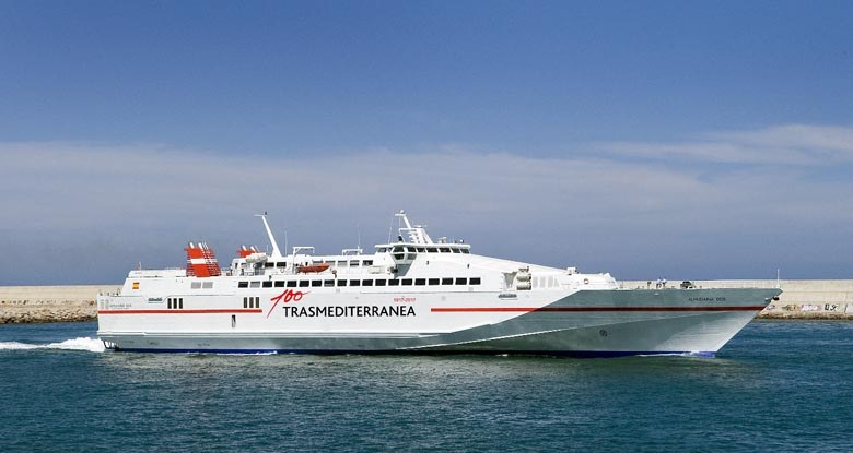 Trasmediterranea anuncia un nuevo ferri que conectará Gandia con Formentera