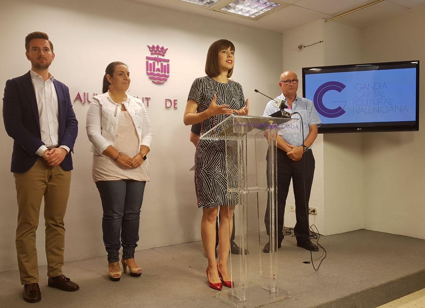 Gandia prepara un acto para celebrar ser la primera ciudad Capital Cultural Valenciana