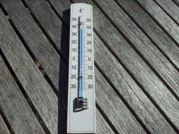 Termometro calor