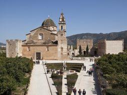 panorámica monasterio MONESTIR DE LA VALLDIGNA-foto Fco Teodoro