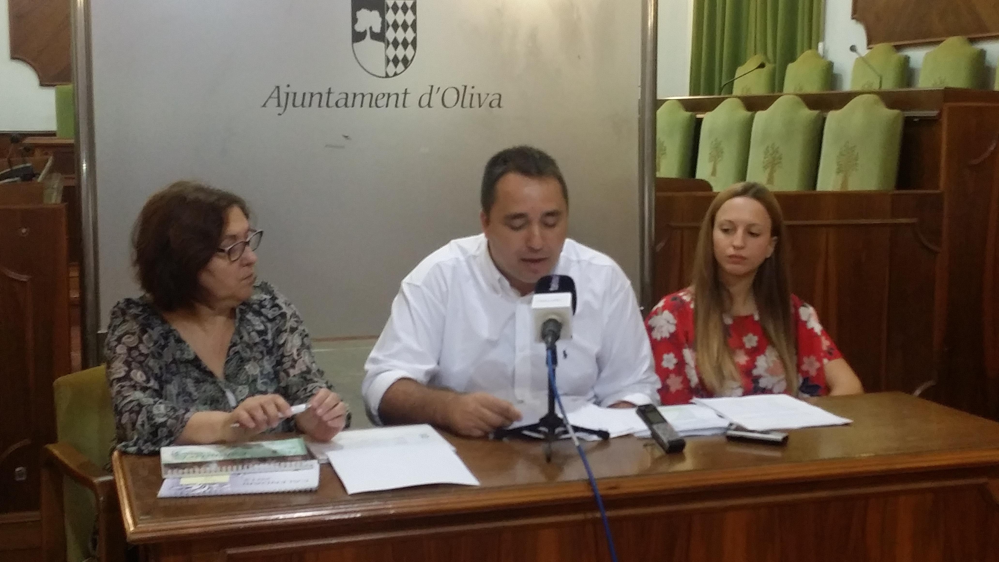 """El PP de Oliva califica de """"cobardes y traidores"""" a los ediles de Projecte-Ciutadans"""