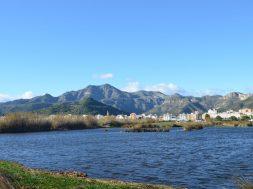 xeraco, mondúver, vista desde río vaca
