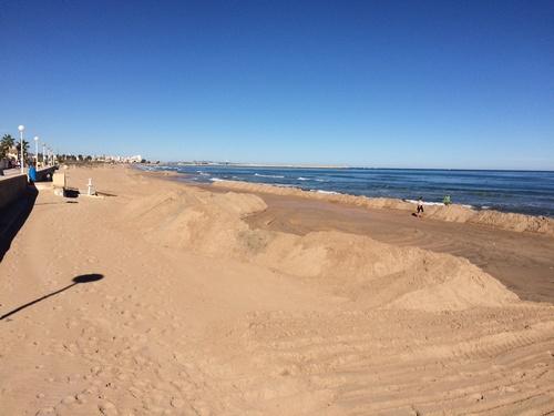 Inversión de más de 270.000 euros para proteger el litoral de la Safor de los temporales