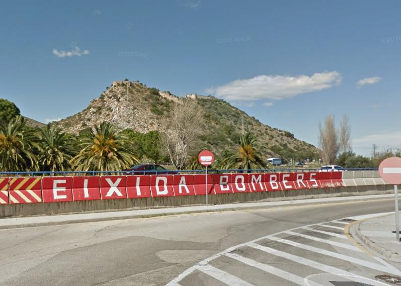 Una pasarela unirá el Castell de Bairén con el polígono Alcodar de Gandia