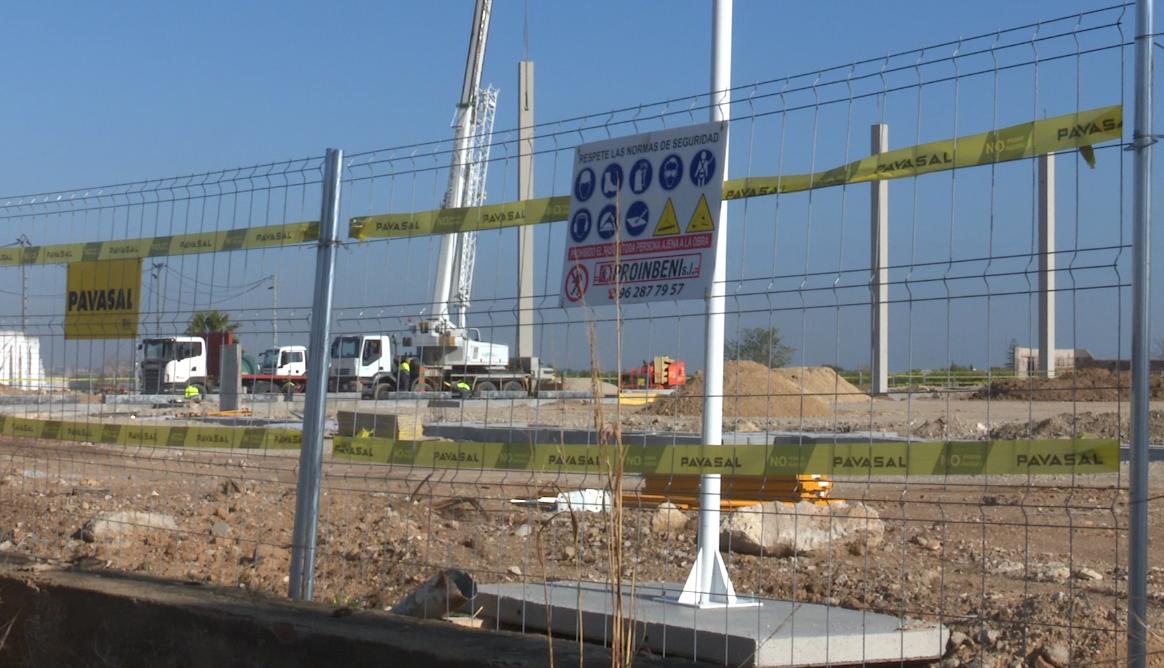 Construyen un centro logístico en Bellreguard que dará empleo a más de 100 personas