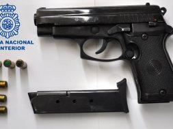pistola detonadora