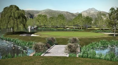 proyecto pp campo golf playa gandia, en marjal