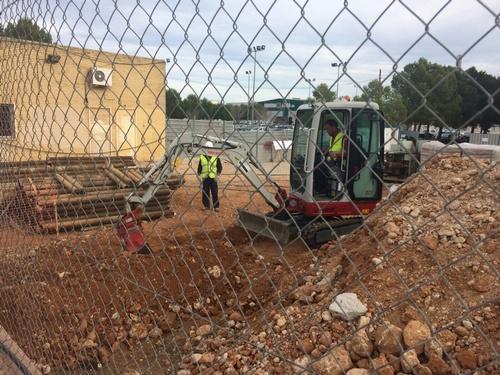Empiezan las obras del paso inferior para peatones en la estación de tren de Xeraco