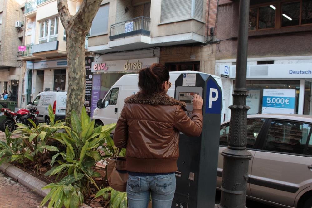 Gandia tendrá 351 nuevas plazas de zona azul y nuevos parquímetros en toda la ciudad