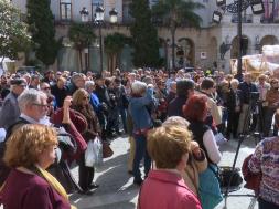 jubilados manifestacion