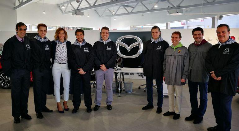 Mazda inaugura las nuevas instalaciones del concesionario oficial Moll Autos en Dénia