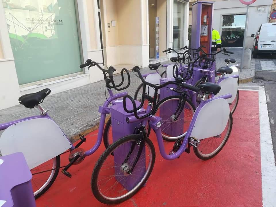 El PP de Gandia se pregunta dónde están las 350 bicis que faltan en el Saforbici