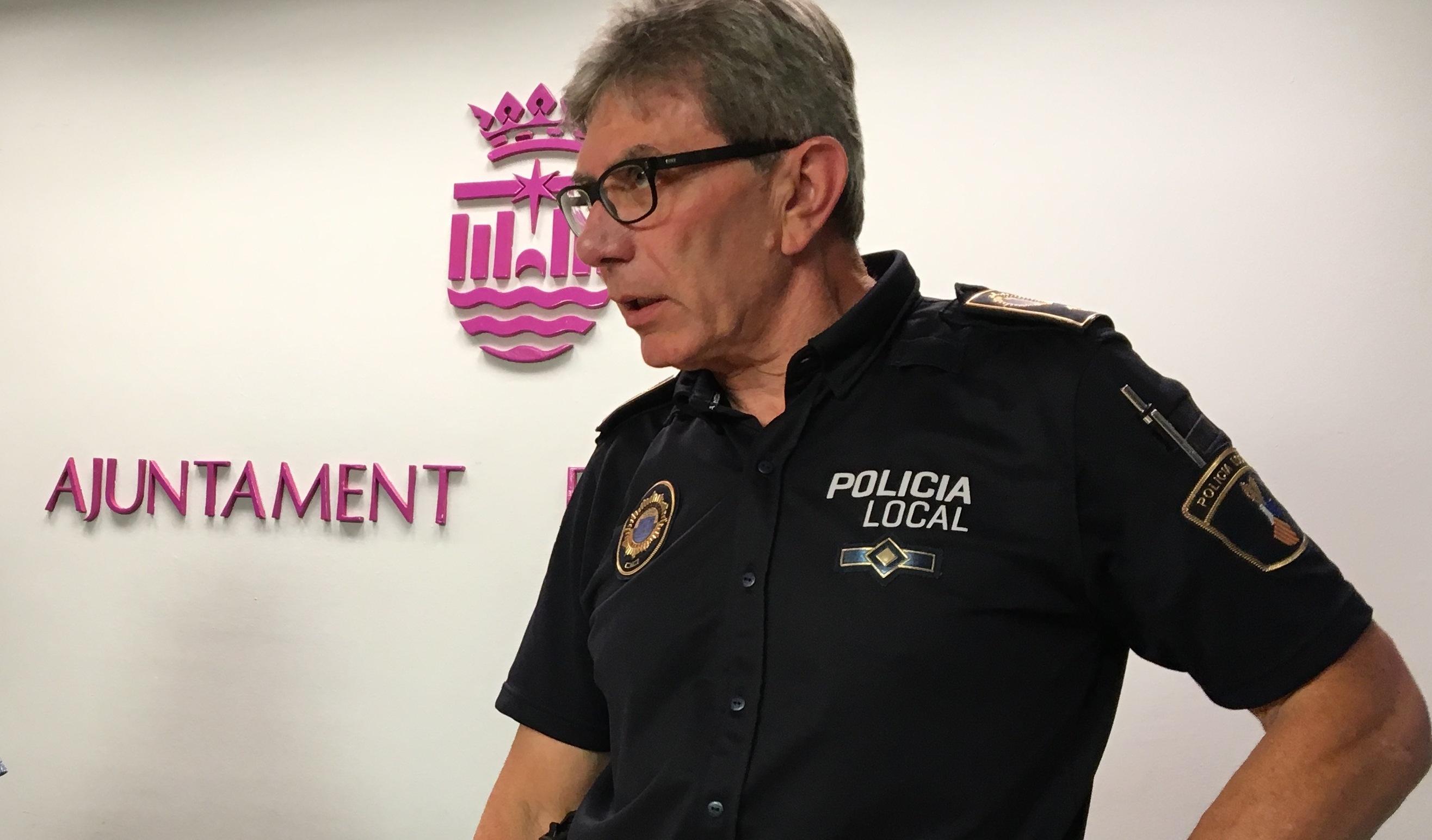 El Jefe de la Policía Local de Gandia niega que la agresión a 2 agentes en Fallas se debiera a la falta de efectivos