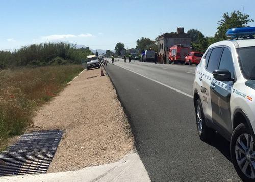 Ni mejoras, ni más controles en la N-332 en Oliva cuando se cumple un año de los atropellos mortales de ciclistas