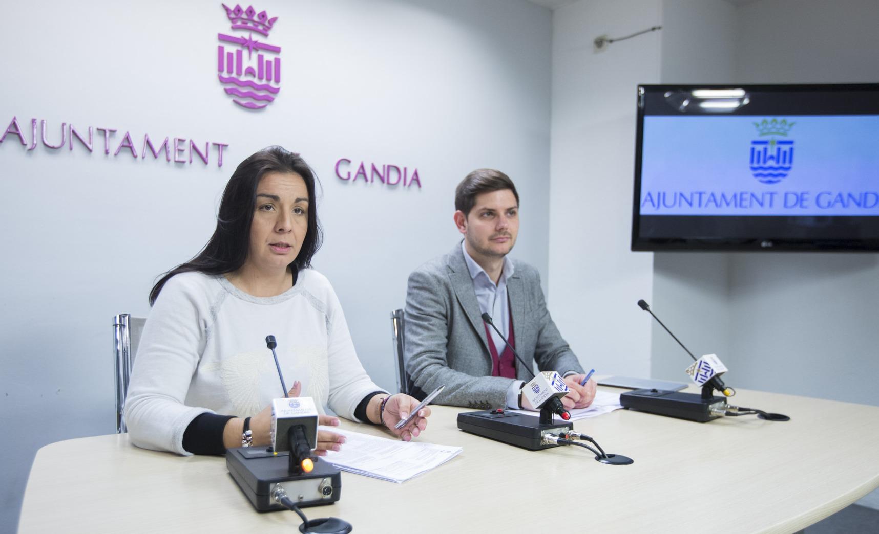 Les Escoletes de Gandia serán gratuitas para el tramo educativo de dos a tres años