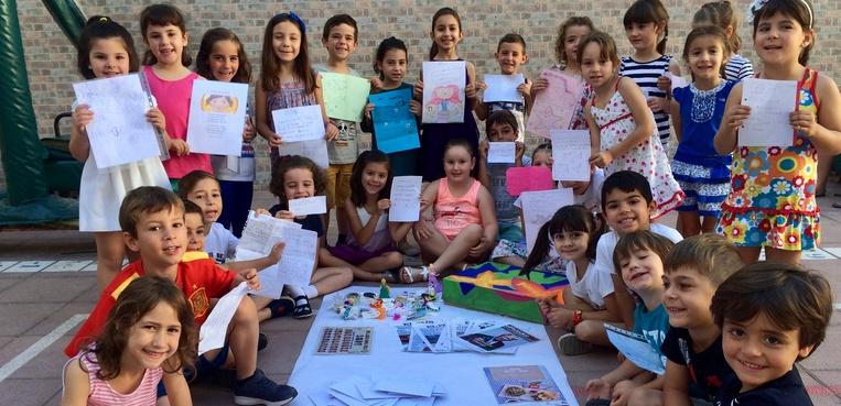 Alumnos de infantil del colegio Abad Sola elaboran una Cápsula del Tiempo que abrirán dentro de 10 años