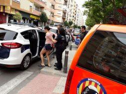 policia detenida 1