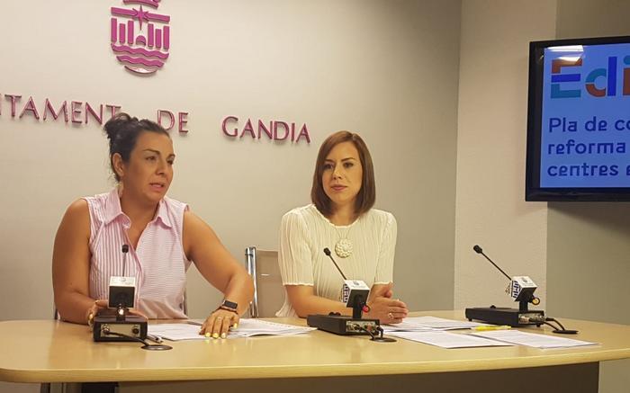 El Ayuntamiento de Gandia ya tiene las competencias para reformar los institutos Ausiàs March y Tirant lo Blanc