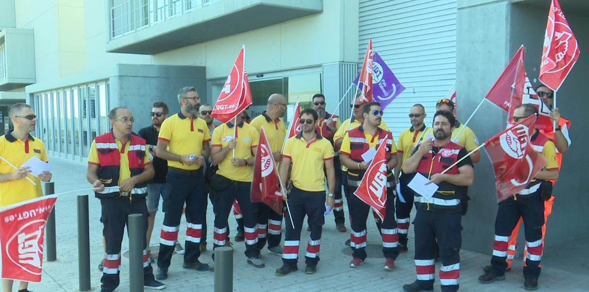 Un 80% de los trabajadores secunda la huelga de ambulancias en Gandia