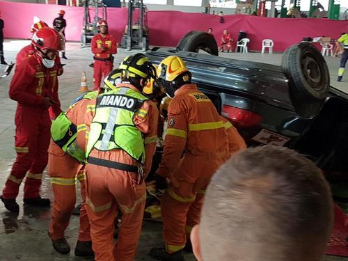 Los bomberos de Gandia campeones nacionales en rescate en accidentes de tráfico