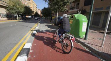 carril bici alex