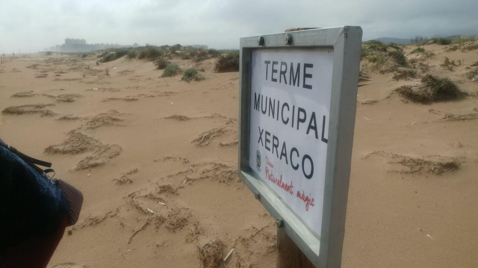 Gandia insta a organismos superiores a resolver el conflicto de los lindes de la playa con Xeraco