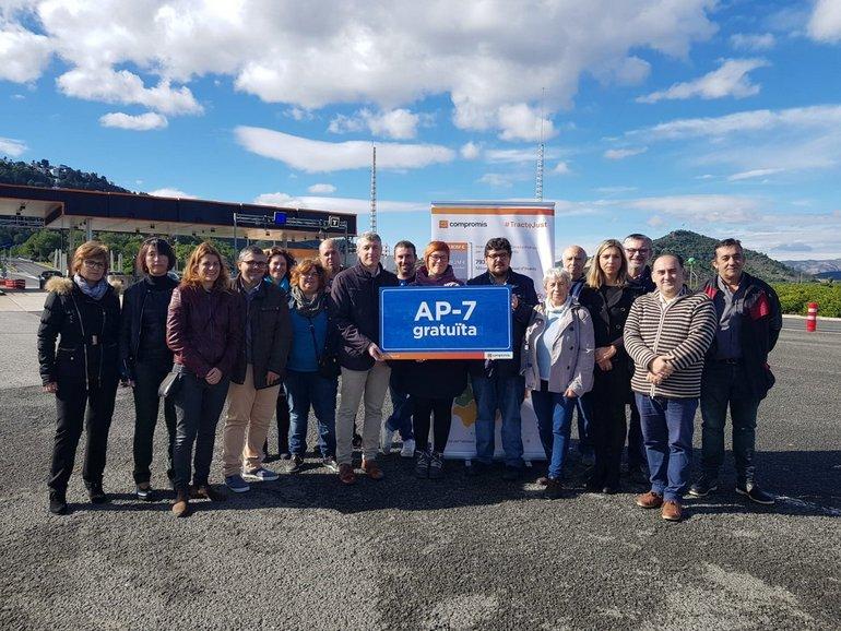 El PSOE se abstiene en el Congreso para que la AP-7 sea gratuita a partir de 2020