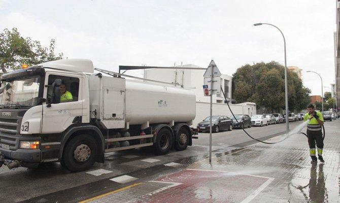 Más limpieza en las calles de Gandia a partir del 1 de diciembre