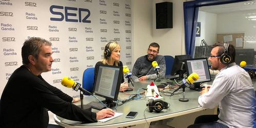 Radio Gandia SER acaba el año 2018 como líder indiscutible de la radio en la comarca de la Safor