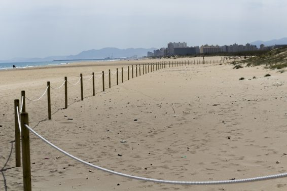 playa gandia xeraco