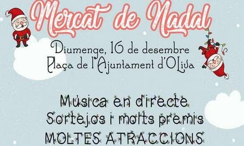 La ciudad de Oliva celebra este domingo su tradicional Mercado de Navidad