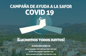 cartel campaña faes coronavirus