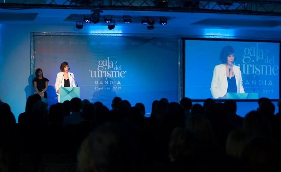 Éxito de la primera Gala del Turismo de Gandia