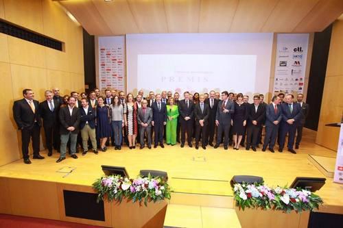 Éxito de la gala de premios FAES de la Safor