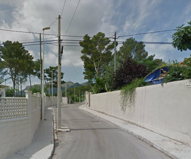 Las obras de urbanización de Montesol en Marxuquera serán finalizadas 20 años después
