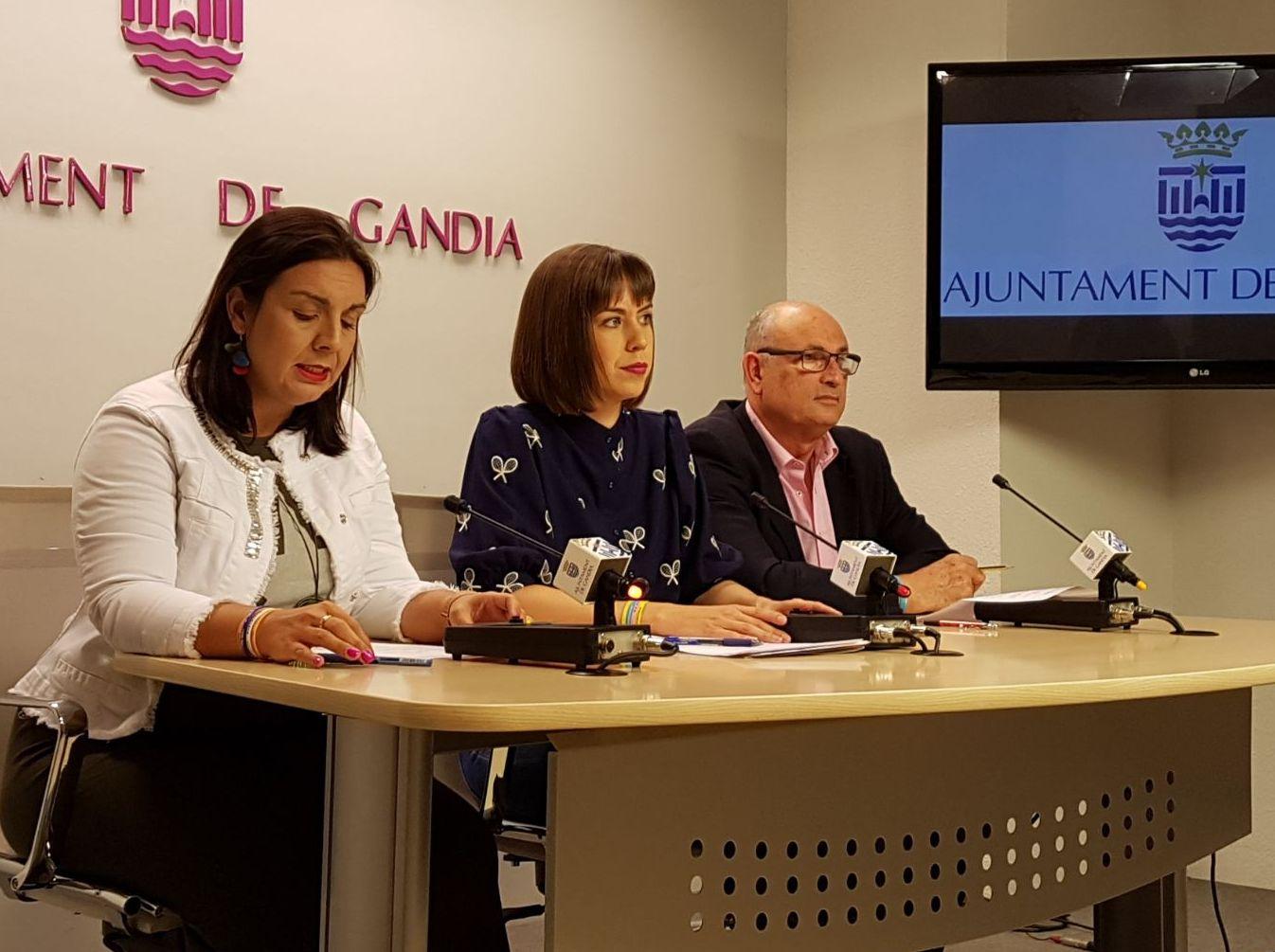 El Ayuntamiento de Gandia paga 3 millones de euros a 180  proveedores de la empresa pública IPG